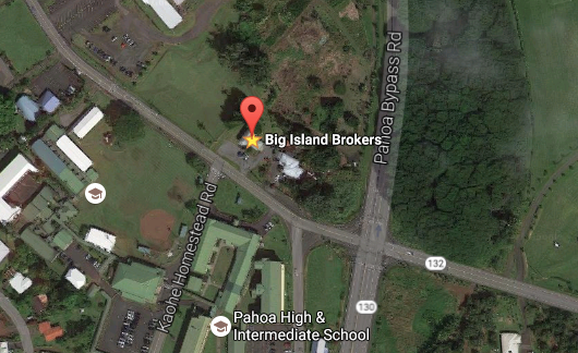 bigislandbrokers google map